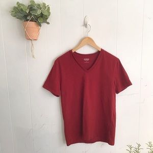Express Red V Neck Tee!